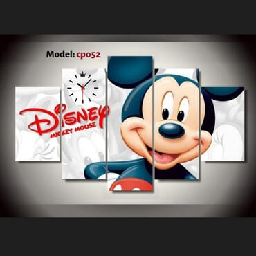 Disney Mickey Mouse Canvas Wall Art cp052