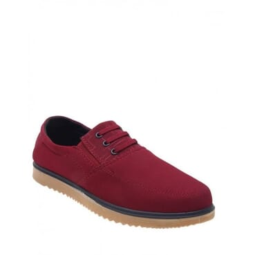 Smooth Casual Loafer-Red