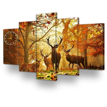 5 Piece Canvas Wall Art Print cp070