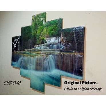 Fountain Canvas Wall Art cp048