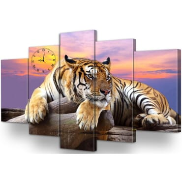 5 Panel Canvas Wall Art cp072