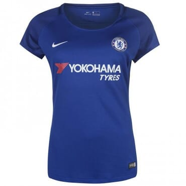 2017/2018 Nike Chelsea Authentic Home Kit,Female Jersey,