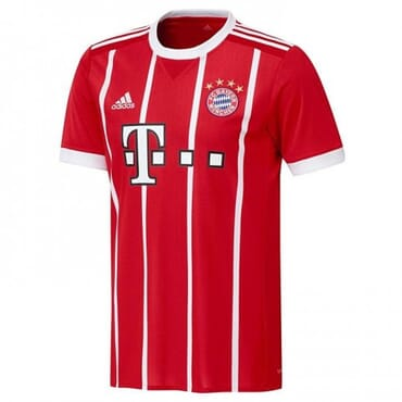2017/2018 Adidas Bayern Munich Authentic Home Kit,Jerseys,