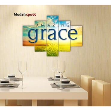 Amazing Grace Canvas Wall Panels cp055