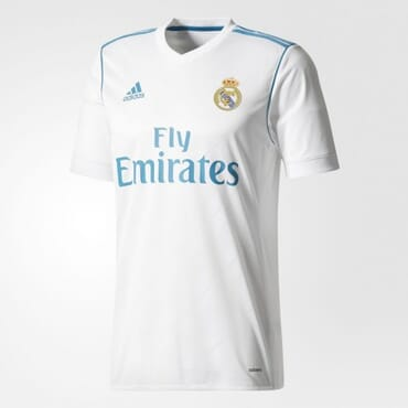 2017/2018 Adidas Real Madrid Authentic Home Kit