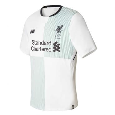 2017/2018 New Balance Liverpool Authentic Away Kit,Jersey,