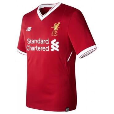 2017/2018 New Balance Liverpool Authentic Home Kit