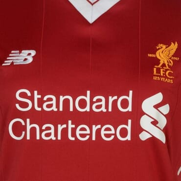 2017/2018 New Balance Liverpool Authentic Home Kit,Female Jersey,