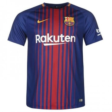 2017/2018 Nike Barcelona Authentic Home Kit,Jersey,