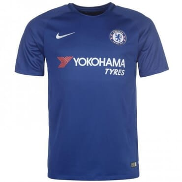 2017/2018 Nike Chelsea Authentic Home Kit