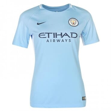 2017/2018 Nike Manchester City Authentic Home Kit,Female Jersey,