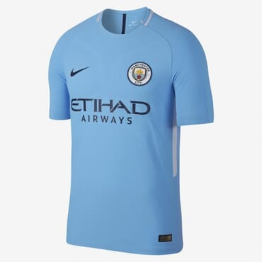 2017/2018 Nike Manchester City Authentic Home Kit,Jersey,