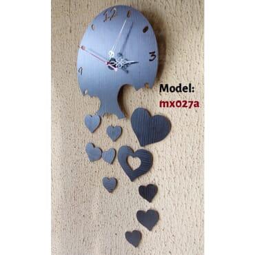 Flowing Love DIY wall clock mx027