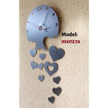 Flowing Love DIY wall clock mx027