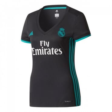 2017/2018 Real Madrid Away Female Kit