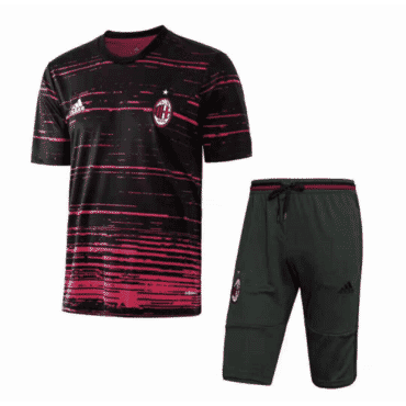 AC Milan Training Kit - Black/Pink