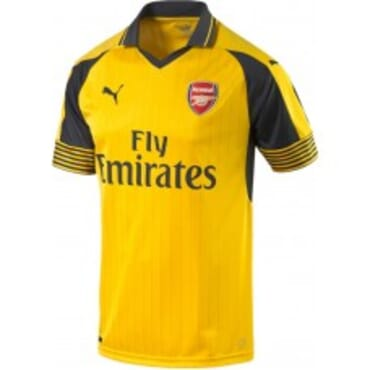 ARSENAL AWAY 2016 2017,JERSEY,