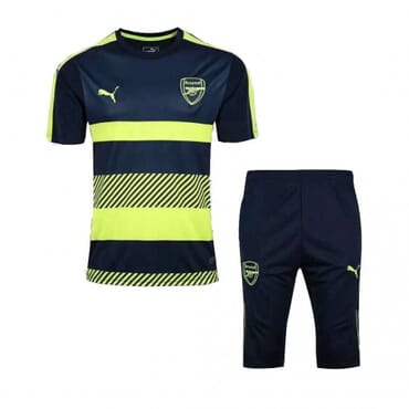 Arsenal Training Kit - Green/Black