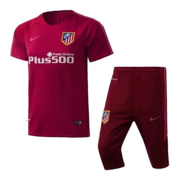 Atlético Madrid Training Kit - Burgundy.