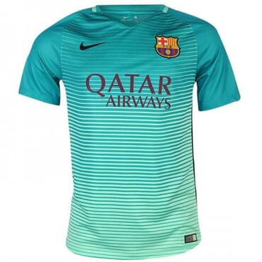 BARCELONA ALTERNATE 2016 2017, JERSEY,