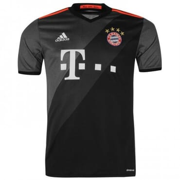 BAYERN MUNICH AWAY ,JERSEY, 2016 2017