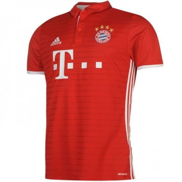 BAYERN MUNICH HOME ,JERSEY, 2016 2017