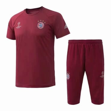 Bayern Munich Training Kit - Wine