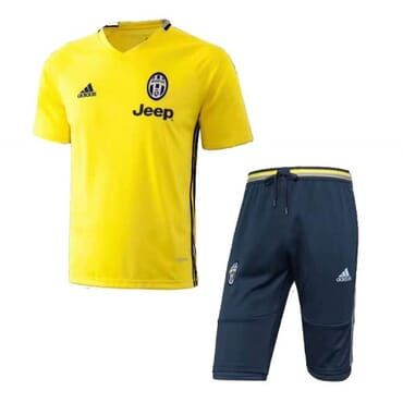 Juventus Training Kit - Yellow