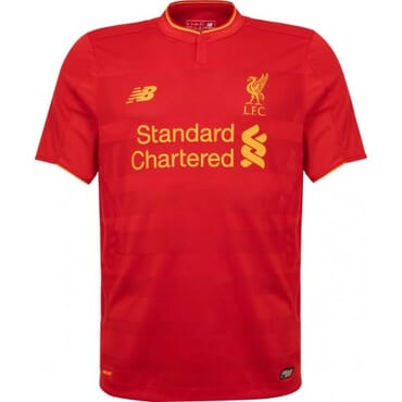 LIVERPOOL HOME ,JERSEY, 2016 2017