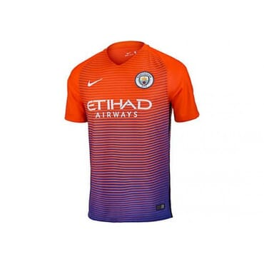 MAN CITY ALTERNATE ,JERSEY, 2016 2017