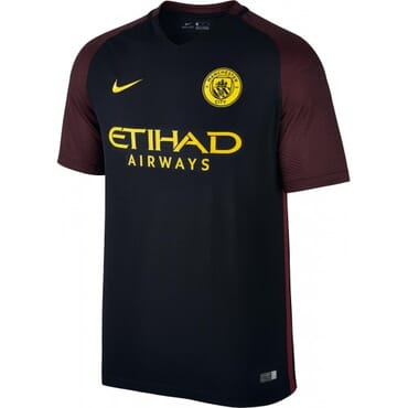 MAN CITY AWAY ,JERSEY,2016 2017