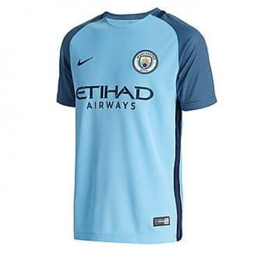 Nike Manchester City Blue 2016/17