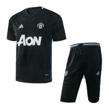 Manchester United Training Kit - Black