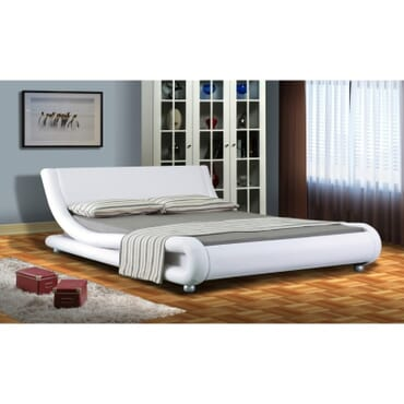 Trendy Faux Leather Bed - 6ft X 6ft fx132wb