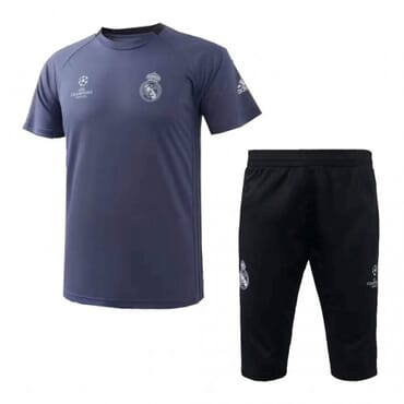 Real Madrid Training Kit - Blue