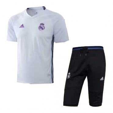 Real Madrid Training Kit - White