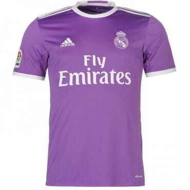 REAL MADRID, AWAY, JERSEY, 2016 2017