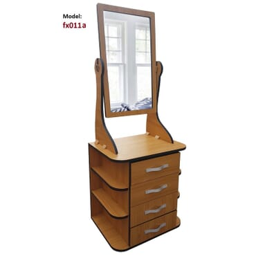 Bliss Dressing table with tilting Mirror fx011cb