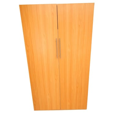 2 Door Partitioned Wardrobe fx046cc