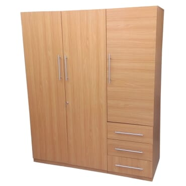 3 Door Wardrobe with drawers fx031cc