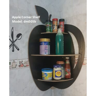 Floating Apple Corner Shelf dm005bx