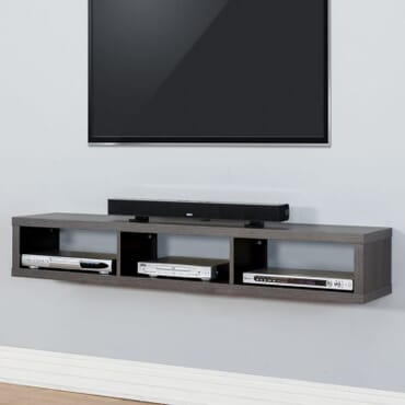 Nimble Floating TV Shelf - 4 Feet fx058bb
