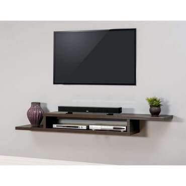 Dainty Floating TV Shelf fx057bb