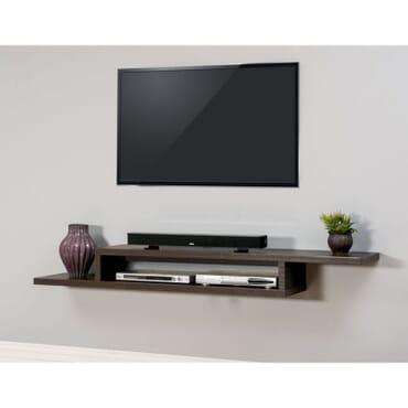 Dainty Floating TV Shelf fx057bb