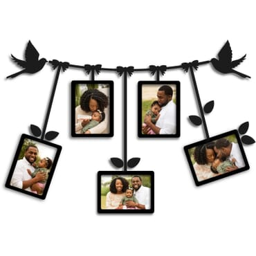 DIY 3D wall flower picture frame mx102bx
