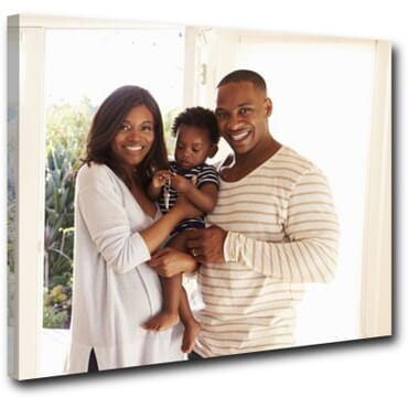 1 Piece Personalized Canvas Wall Art cp001c