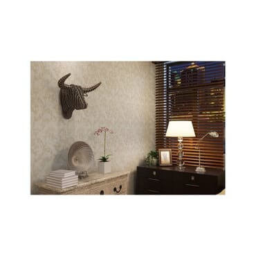 Safari Bull Wall Art th020