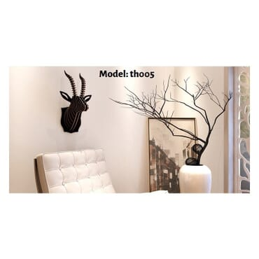 Safari Antelope Wall Art th005