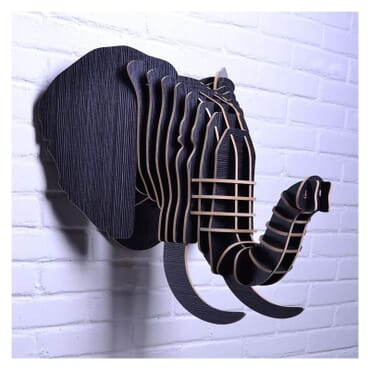 Safari Elephant Wall Art th015