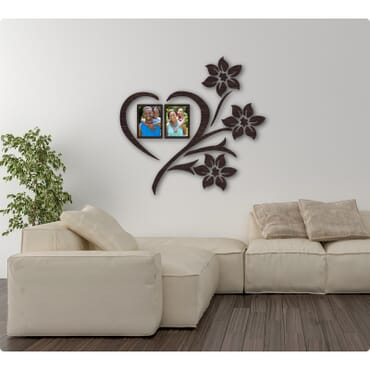DIY 3D wall flower picture frame mx101bx
